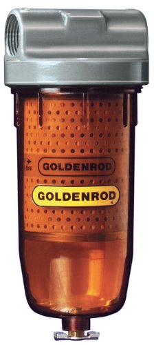 Diesel Fuel Tank Filters : Goldenrod bowl fuel tank filter with ″ npt top cap