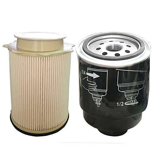 auto safety 6 7l cummins fuel filter water separator set. Black Bedroom Furniture Sets. Home Design Ideas